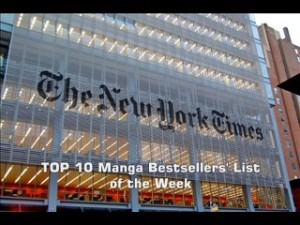 The New York Times' TOP 10 Manga Bestsellers List