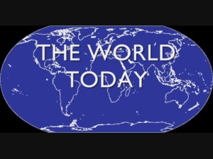 Asnycnow Radio's 'The World Today'