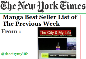 The New York Times' Top 10 Manga Best Seller List